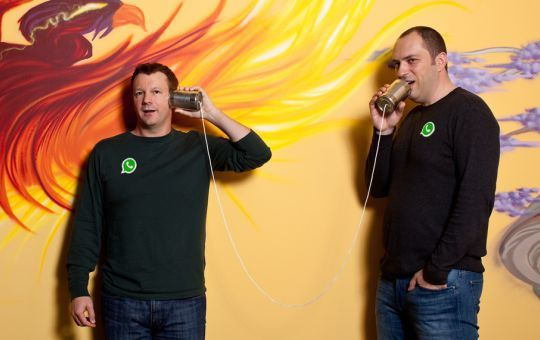 Jan Koum and Brian Acton: Founders of WhatsApp