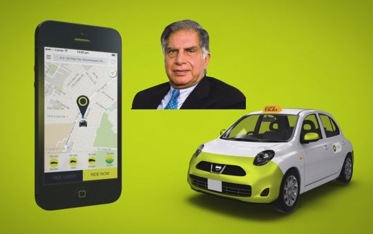 Ratan Tata invests in OlaCabs mission to build mobility for billion Indians!