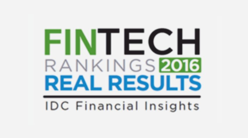 Intellect ranked #1 at IDC Financial Insights FinTech Rankings Real Results Awards 2016 for its core banking implementation at Sonali Bank