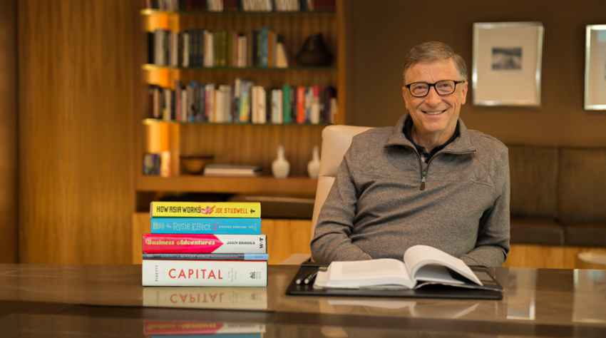 Bill Gates and his Endearment for Books