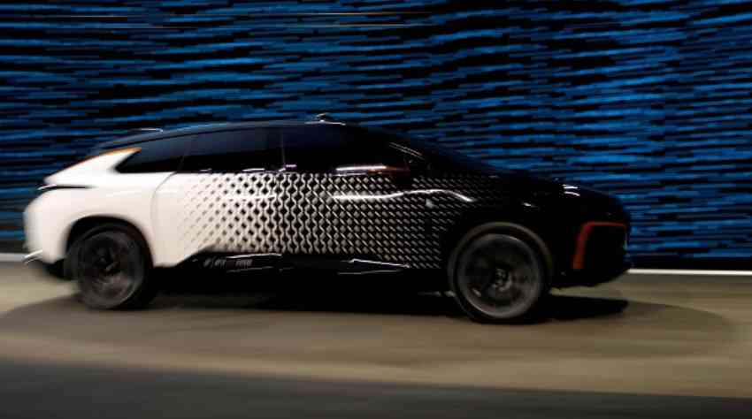Faraday Future Reveals Electric Vehicle FF91 in Las Vegas at CES 2017