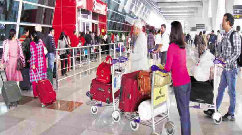 Practice of Stamping Hand Baggage Raised Concerns