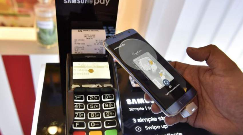 Swipe your Phone with Samsung Pay App