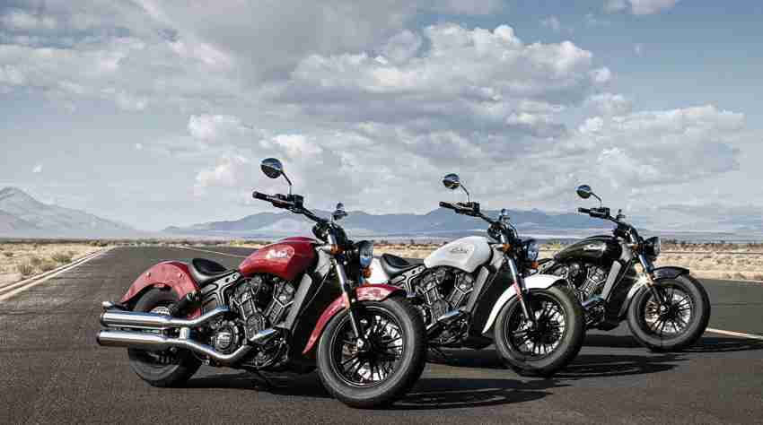 The Indian Scout Sixty gets new dual tone color