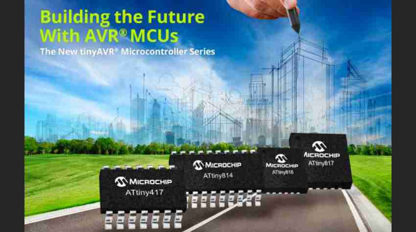 New tinyAVR® MCUs increase system throughput while lowering power consumption in embedded applications