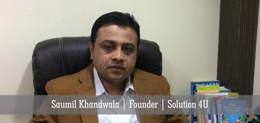 Saumil Khandwala: A Creative Persona Designing Innovative Solutions for Plastic Products