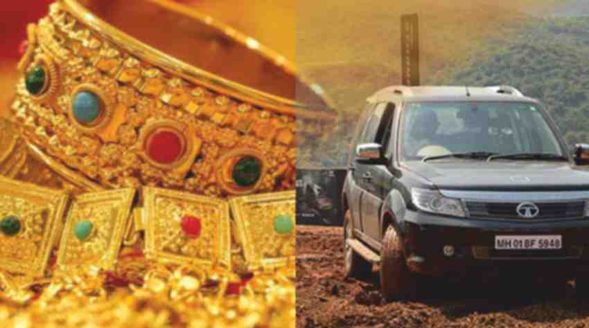 GST will not be Applicable on Old Jewelry and Vehicles