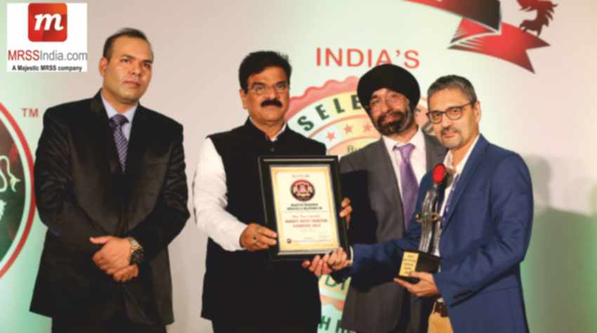 """MRSS India selected as """"INDIA'S MOST TRUSTED COMPANY AWARD 2017"""""""